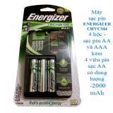 Bán Bộ May Sạc Pin Aa Aaa Kem 4 Vien Pin Sạc Aa 2000 Mah Energizer Chvcm4 Nguyên
