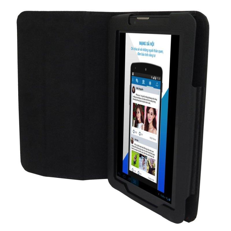 Bộ Máy tính bảng cutePad M7022 4-core 8GB 3G (Đen) và Bao da (Đen) - Hãng Phân phối chính thức