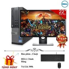 Bộ máy tính để bàn Dell Optiplex 790 ( Corei5 / 8gb / 500gb ) Và Màn Hình Dell 22' inch - Tặng ngay bàn phím chuột + lót chuột - Hàng Nhập Khẩu