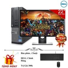 Hình ảnh Bộ máy tính để bàn Dell Optiplex 9010 ( Corei5 / 4gb / 500gb ) Và Màn Hình Dell 22' inch - Tặng ngay bàn phím chuột + lót chuột + usb wiif. - Hàng Nhập Khẩu