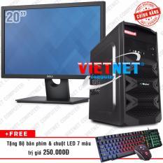 Giá Bán Bộ May Tinh Ban Intel Core I5 2400 Ram 4Gb 500Gb Co Dell 20In Vietnet Computer Tốt Nhất
