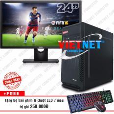 Hình ảnh Bộ máy tính intel core i5 2400 RAM 8GB 500GB LCD Dell 24in Wide VietNet
