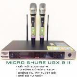 Bán Bộ Micro Khong Day Shure Ugx 9 Iii Thế Hệ Thứ 3 Kết Nối Bluetooth Va Chế Độ Tự Ngắt Thương Hiệu Đỉnh Cao Trực Tuyến Hà Nội