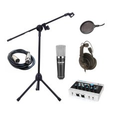 Bộ Micro Takstar Pc K600 Sound Card Alctron U16K Usb Tai Nghe Superlux Hd668B Mang Lọc Am Ps 01 Boom Mic Stand Cable Isk C1 Mới Nhất