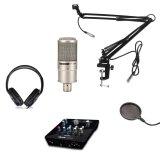 Mua Bộ Microphone Takstar Pc K200 Card Sound Icon Upod Nano Chan Đế Kẹp Ban Nb 39 Co Day Mang Lọc Am Ps 01 Tai Nghe Kiểm Am Isk Hp 960S Takstar Rẻ