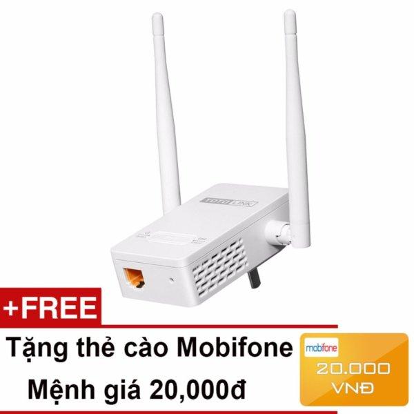 Bảng giá Bộ Mở Rộng Sóng Wifi Chuẩn N Tốc Độ 300Mbps Totolink EX200 + Tặng thẻ cào Mobifone 20,000đ - Hãng phân phối chính thức Phong Vũ