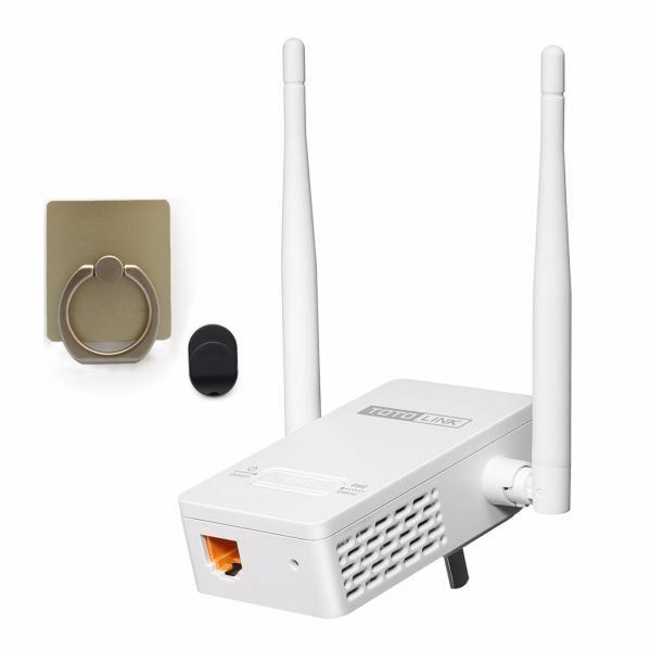 Bảng giá Bộ Mở Rộng Sóng Wifi Chuẩn N Tốc Độ 300Mbps Totolink EX200 (Trắng) và giá đỡ vòng tay thông minh  - Hãng phân phối chính thức Phong Vũ