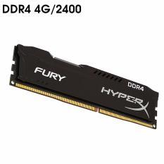 Bộ nhớ Ram PC Kingston Hyper Fury (4GB, DDR 4, Bus 2400Mhz) Tản Nhiệt Thép