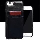 Giá Bán Bộ Ốp Bao Da Kiem Vi Tiền Gex Cho Iphone 7 Đen Mới Nhất