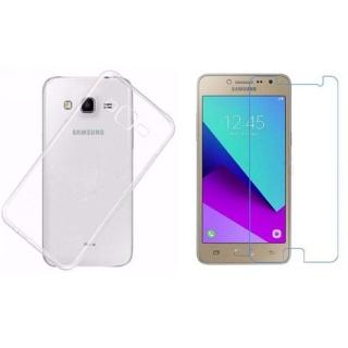 Bộ Ốp Lưng + Kính Cường Lực Cho Samsung Galaxy J2 Prime J2-2017 thumbnail