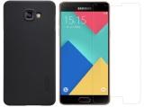 Chiết Khấu Bộ Ốp Lưng Nillkin Cho Samsung Galaxy A9 Pro Đen Va Dan Kinh Cường Lực Galaxy A9 Pro Trong Suốt