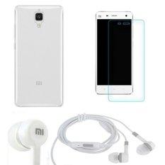 Mã Khuyến Mại Bộ Ốp Lưng Silicon Xiaomi Mi4 Trắng Kinh Cường Lực 2 5 D Tai Nghe Trắng Hà Nội