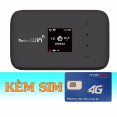 Mua Bộ Phat Wifi 3G 4G Emobile Gl09P Sim 4G Mobifone 20Gb Thang Analog Trực Tuyến