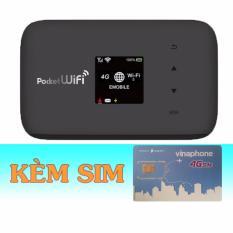 Giá Bán Bộ Phat Wifi 3G 4G Emobile Gl09P Sim 4G Vinaphone Khuyễn Mai 120Gb Thang Mới Rẻ