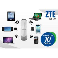Hình ảnh Bộ Phát WiFi 3G Di Động Viettel ZTE MF70 (trắng)