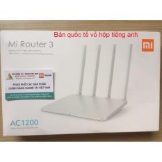 Bộ Phat Wifi Xiaomi Router Gen 3 Trắng Quốc Tế Hà Nội Chiết Khấu