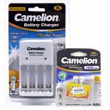 Ôn Tập Bộ Sạc 1010B Kem 2 Pin Aaa Camelion