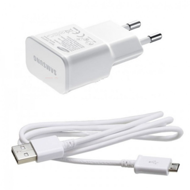 Bộ sạc cable Samsung Galaxy J Docomo (Trắng) - Hàng nhập khẩu
