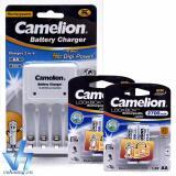 Giá Bán Bộ Sạc Camelion 1010B 4 Pin Aa 2700Mah Trắng Trực Tuyến Hồ Chí Minh