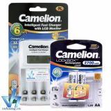 Giá Bán Bộ Sạc Camelion 1012 Kem 2 Pin Aa 2700Mah Camelion Tốt Nhất