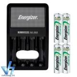 Cửa Hàng Bộ Sạc Energizer Charger Kem 4 Pin Ener Aa 2000Mah Tự Ngắt Sạc Energizer Hồ Chí Minh