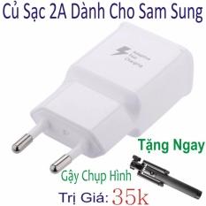 Hình ảnh Bộ sạc nhanh 2A cho Samsung ( Bảo hành 6 Tháng ) Hàng Nhập Khẩu - Tặng Ngay Gậy Chụp Ảnh Trị Giá 35k