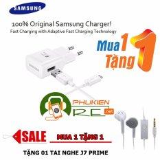 Giá Bán Bộ Sạc Nhanh Danh Cho Galaxy A9 Pro Tặng Tai Nghe J7 Prime Hang Nhập Khẩu Có Thương Hiệu
