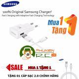Bán Bộ Sạc Nhanh Danh Cho Samsung Galaxy Note 5 Tặng Cap Sạc 2 Hang Nhập Khẩu Có Thương Hiệu Nguyên