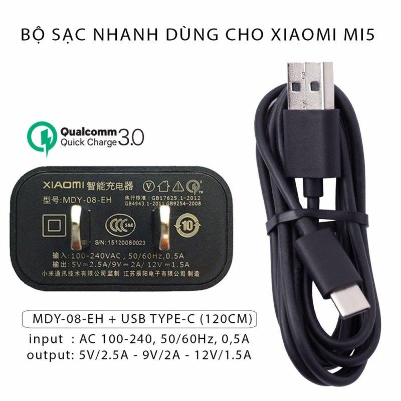 Bộ Sạc Nhanh Dùng Cho Điện Thoại Xiaomi Mi5 - Hàng Nhập Khẩu