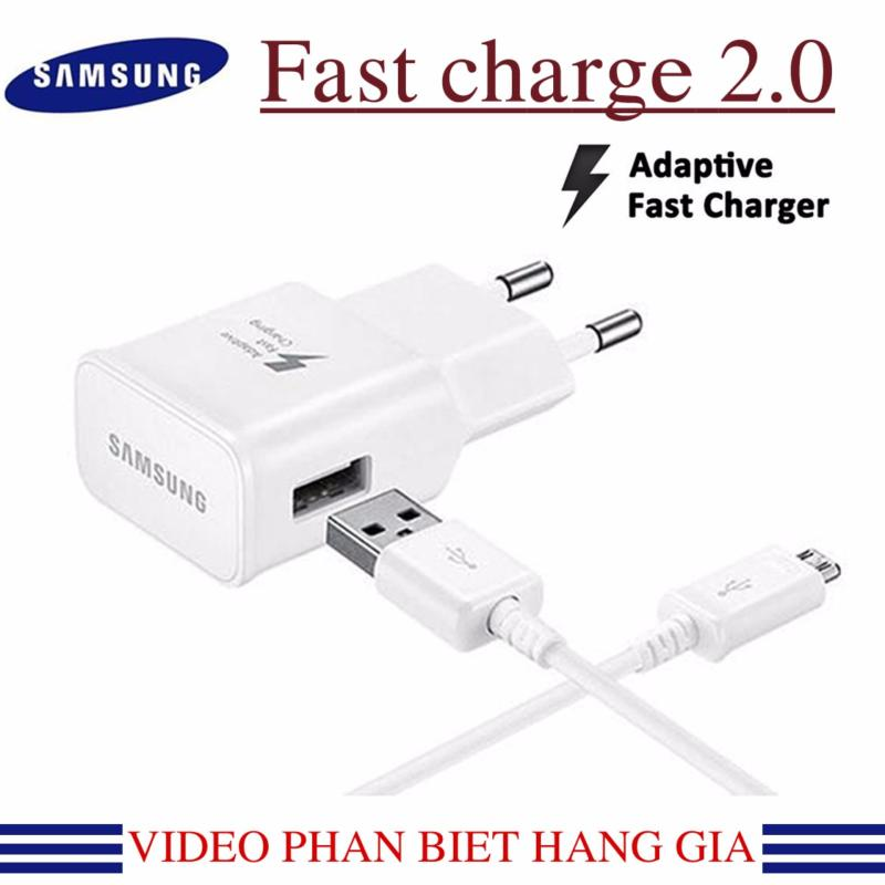 Giá Bộ sạc nhanh Fast Charge Samsung Galaxy S4; S5; S6 ;S7 Note 5; Note 6 ; Note 7 2016 (Trắng)