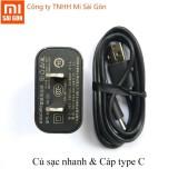 Chiết Khấu Bộ Sạc Nhanh Xiaomi Cap Type C Củ Sạc Nhanh Quick Charge 3 Xiaomi Trong Hồ Chí Minh