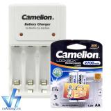 Giá Bán Bộ Sạc Pin 1010B Kem 2 Pin Aa Camelion 2700Mah