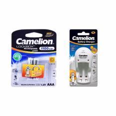 Bộ Sạc Pin Camelion Bc1009 2 Pin Aaa 1100 Mah Nguyên