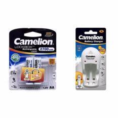 Giá Bán Bộ Sạc Pin Camelion Bc1009 2 Pin Aa 2700Mah Mới