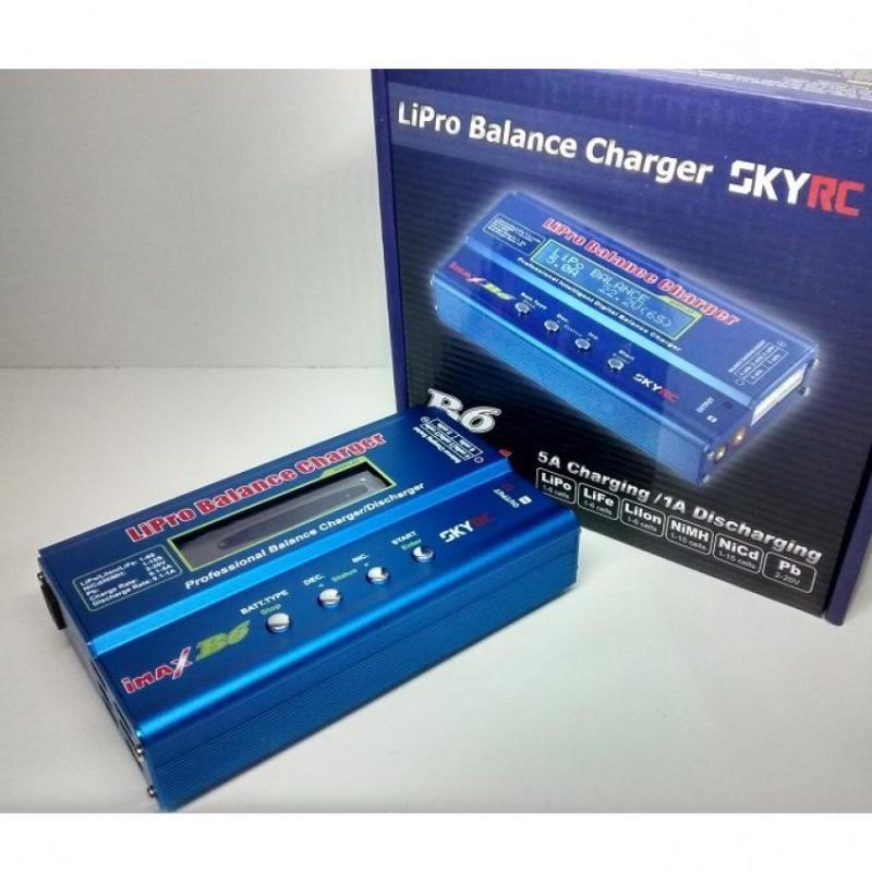 Bộ sạc pin đa năng IMAX B6 Original sạc pin Lipo LiFe Li-ion NiCD NiMH bình ắc quy Luân Air Models