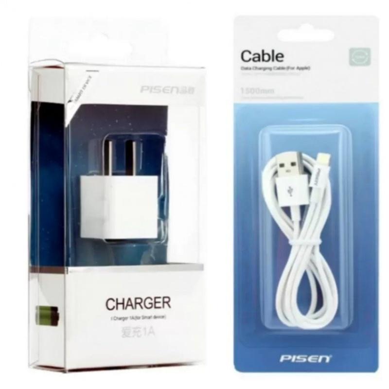 Bộ sạc PISEN cho iphone 5 5s và 6 6s 6plus- hàng nhập khẩu