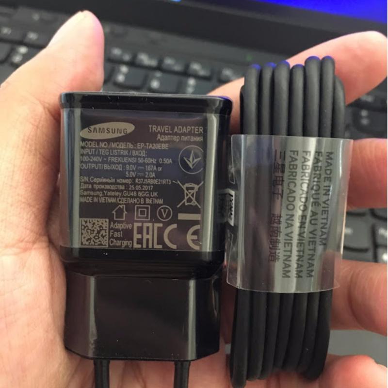 Bộ sạc zin theo máy Samsung Note8 - Hàng nhập khẩu (Đen)