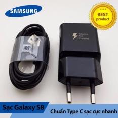 Bộ sạc zin theo máy Samung Galaxy S8/S8+ VN - Hàng nhập khẩu (Đen