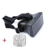 Bộ sản phẩm Kính xem phim 3D cho smartphone Hopo's OneX2015 (Đen) và tai nghe nhét tai IP5