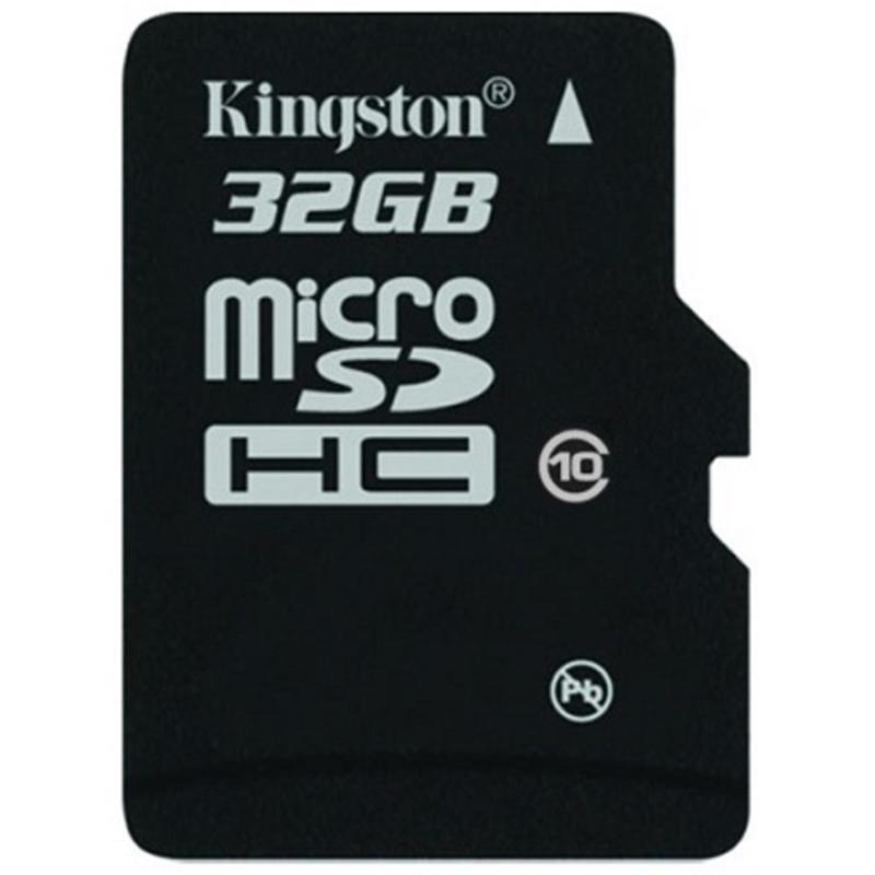 Thẻ nhớ Kingston Micro SDHC Class10 32GB Đen