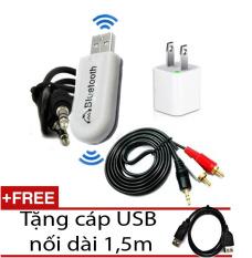 Giá Bán Rẻ Nhất Bộ Thiết Bị Tạo Bluetooth Đa Năng Cho Dan Am Thanh Loa Amply Tặng Cap Usb Nối Dai