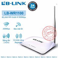 Bán Mua Bộ Thu Phat Song Wifi Lb Link Bl Wr1100 1 Ăng Ten 150Mpbs Hang Phan Phối Chinh Thức Mới Hà Nội