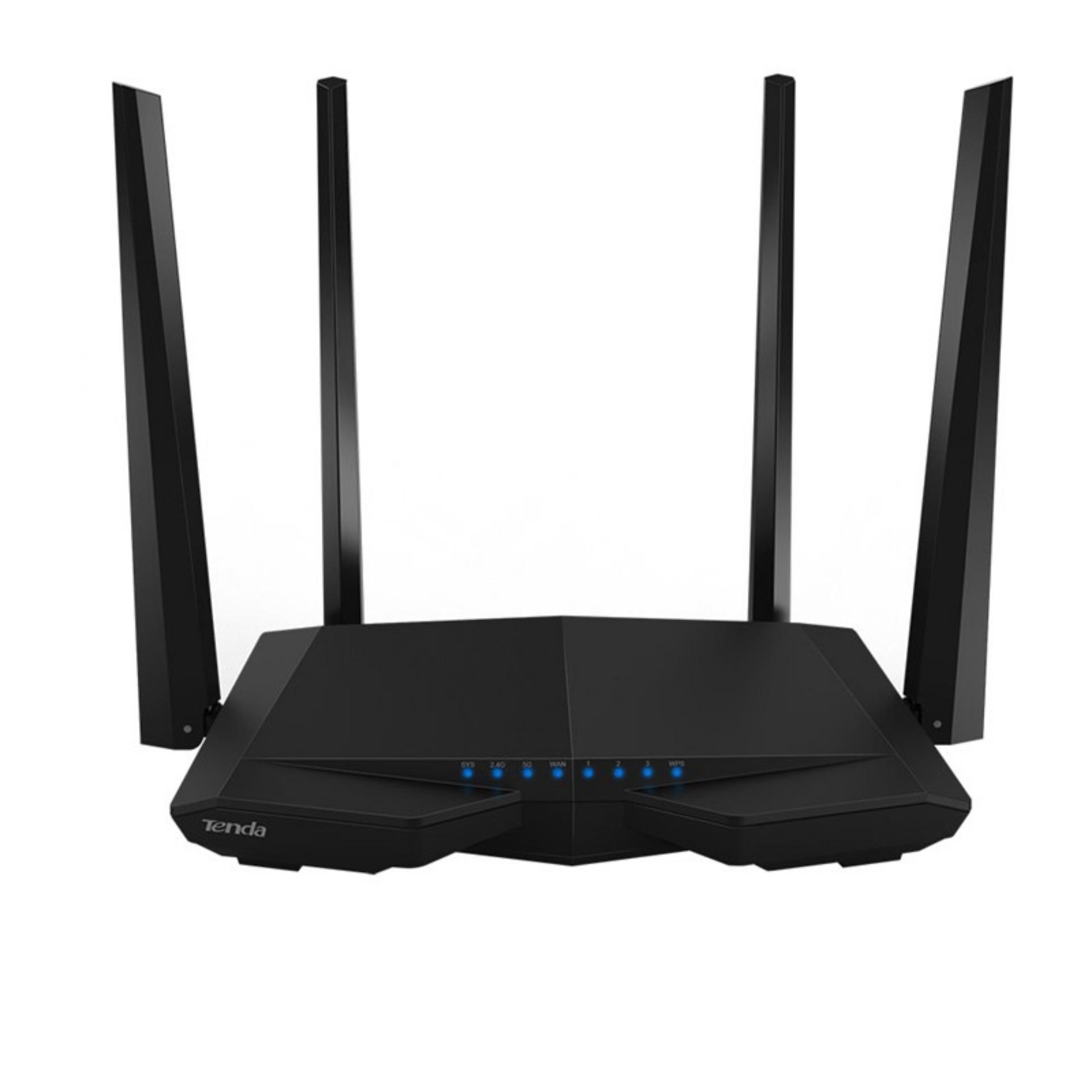 B Thu Pht Tenda Ac6 Ac1200 1200mb Smart Dual Band Gigabit Wifi Router Asus Rt Ac55uhp High Power Wireless Ac 1200 Mbps