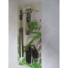 Bộ thuốc lá điện tử EGO CE4 (Bạc) kèm 2 tinh dầu và buồng đốt