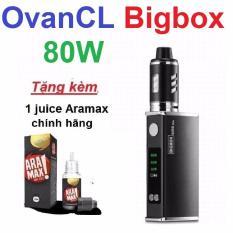 Bộ thuốc là điện tử OvanCL Bigbox 80W màu Đen