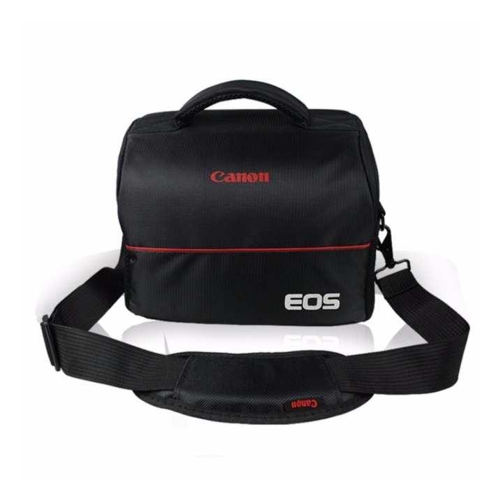 Bộ túi đựng máy ảnh Photogear size M và Da cừu lau ống kính (Đen).