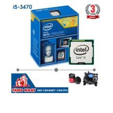 Bộ vi xử lý Intel CPU Core i5 3470 3.6GHz (4 lõi, 4 luồng) + Tặng keo tản nhiệt + Fan CPU ZIN- Hàng Nhập Khẩu