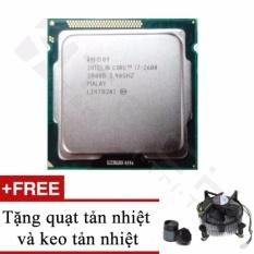 Bộ vi xử lý Intel Core i7 3770 3.40GHz(up to 3.9GHz, 4 lõi,8 luồng), Bus 1333/1600MHz, Cache 8MB - Kèm Quạt + Tặng Keo Tản Nhiệt.