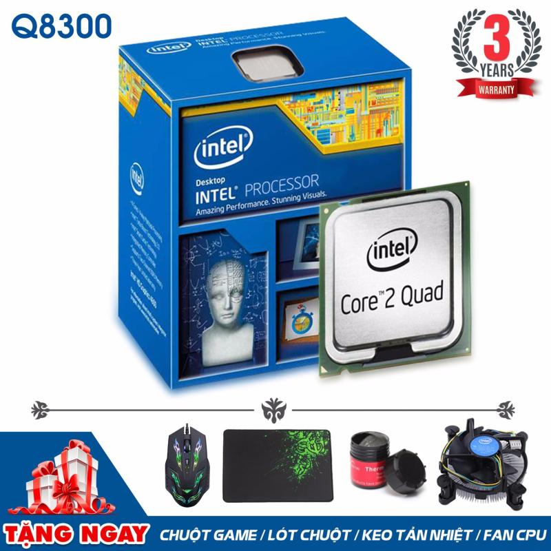 Bảng giá Bộ vi xử lý Intel CPU Core 2 Quad Q8300 (4 lõi, 4 Luồng) + Quà Tặng - Hàng Nhập Khẩu Phong Vũ