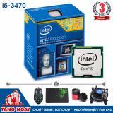 Mua Bộ Vi Xử Lý Intel Cpu Core I5 3470 3 6Ghz 4 Loi 4 Luồng Qua Tặng Hang Nhập Khẩu Intel Rẻ